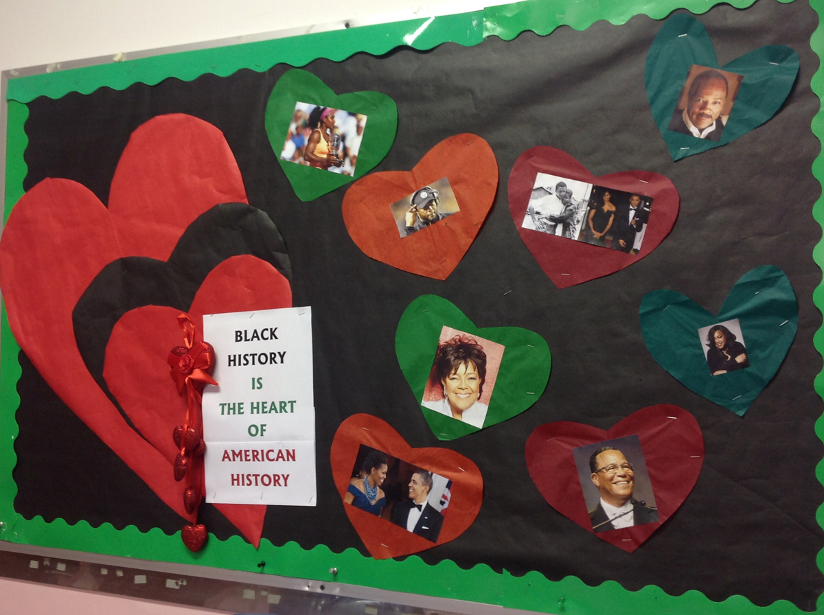 Classroom Decorations For March ~ Black history month celebration englewood on the